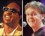 Stevie Wonder & Paul McCartney