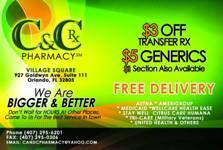 C&C Pharmacy logo